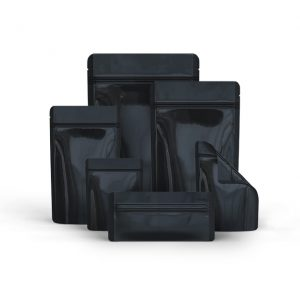 Black Mylar Smell Proof Bags