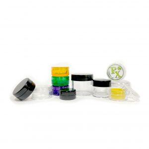 Plastic Concentrate Jars