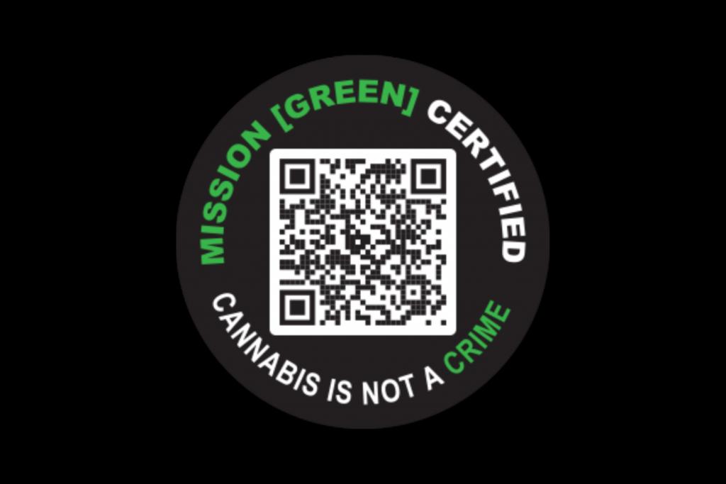 Mission Green Certification Sticker