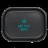 Black Tray Small with logo e1574125109379